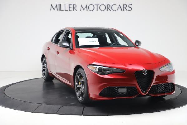 New 2020 Alfa Romeo Giulia Ti Sport Q4 for sale $56,690 at Pagani of Greenwich in Greenwich CT 06830 11
