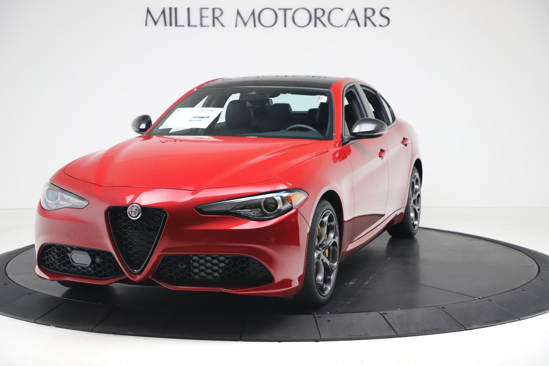 New 2020 Alfa Romeo Giulia Ti Sport Q4 for sale $56,690 at Pagani of Greenwich in Greenwich CT 06830 1