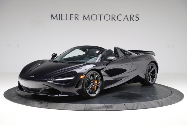 New 2020 McLaren 720S Spider Performance for sale $377,830 at Pagani of Greenwich in Greenwich CT 06830 14