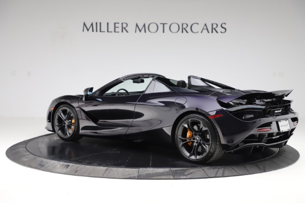 New 2020 McLaren 720S Spider Performance for sale $377,830 at Pagani of Greenwich in Greenwich CT 06830 3