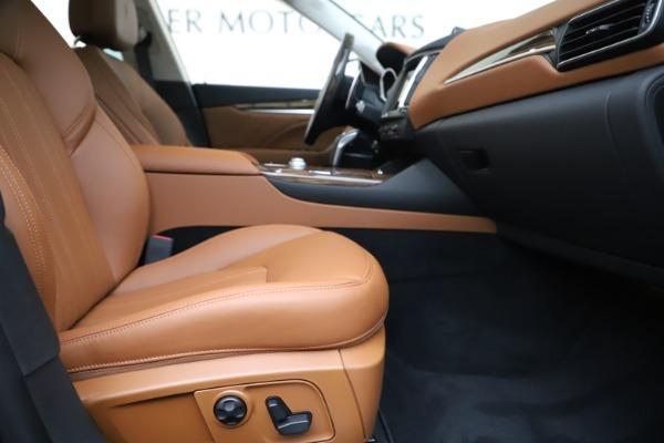 New 2020 Maserati Levante S Q4 GranLusso for sale $94,985 at Pagani of Greenwich in Greenwich CT 06830 23