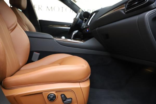 New 2020 Maserati Levante Q4 GranLusso for sale $84,985 at Pagani of Greenwich in Greenwich CT 06830 23