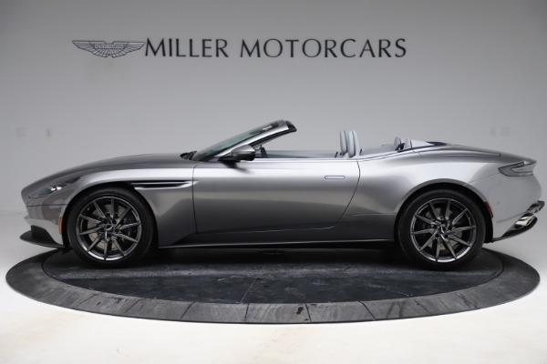 New 2020 Aston Martin DB11 Volante Convertible for sale $271,161 at Pagani of Greenwich in Greenwich CT 06830 4