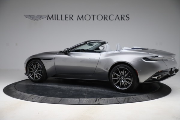 New 2020 Aston Martin DB11 Volante Convertible for sale $271,161 at Pagani of Greenwich in Greenwich CT 06830 5