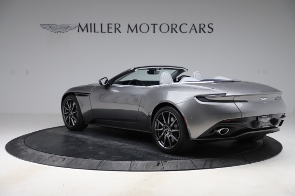 New 2020 Aston Martin DB11 Volante Convertible for sale $271,161 at Pagani of Greenwich in Greenwich CT 06830 6
