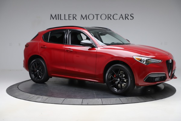 New 2020 Alfa Romeo Stelvio Sport Q4 for sale $50,190 at Pagani of Greenwich in Greenwich CT 06830 10