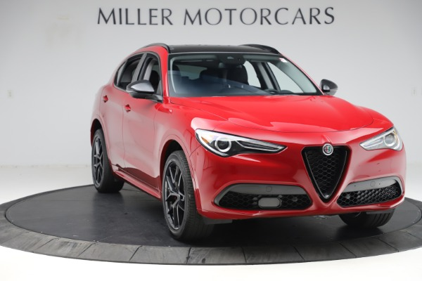 New 2020 Alfa Romeo Stelvio Sport Q4 for sale $50,190 at Pagani of Greenwich in Greenwich CT 06830 11