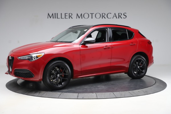 New 2020 Alfa Romeo Stelvio Sport Q4 for sale $50,190 at Pagani of Greenwich in Greenwich CT 06830 2