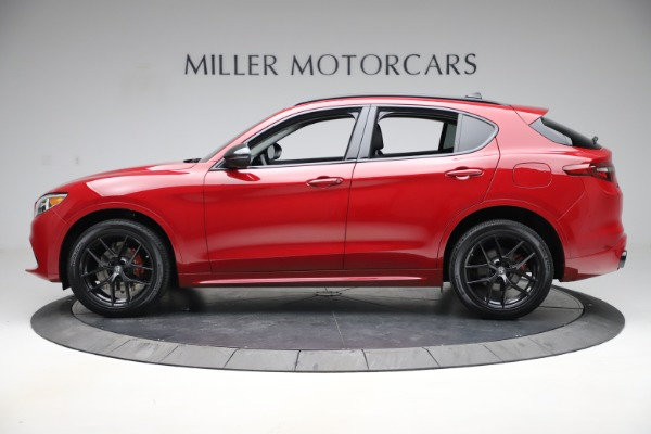 New 2020 Alfa Romeo Stelvio Sport Q4 for sale $50,190 at Pagani of Greenwich in Greenwich CT 06830 3