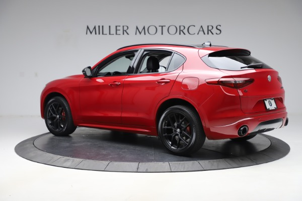 New 2020 Alfa Romeo Stelvio Sport Q4 for sale $50,190 at Pagani of Greenwich in Greenwich CT 06830 4