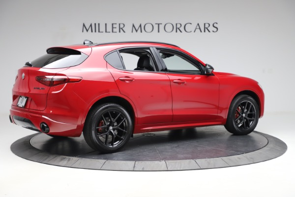New 2020 Alfa Romeo Stelvio Sport Q4 for sale $50,190 at Pagani of Greenwich in Greenwich CT 06830 8