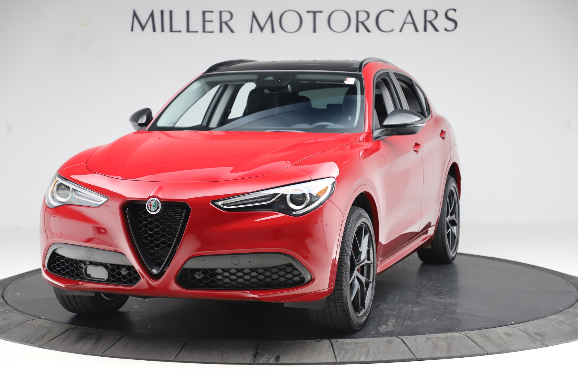 New 2020 Alfa Romeo Stelvio Sport Q4 for sale $50,190 at Pagani of Greenwich in Greenwich CT 06830 1
