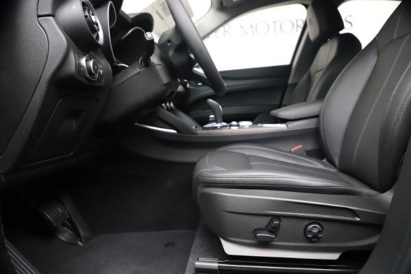 New 2020 Alfa Romeo Stelvio Ti Q4 for sale $54,340 at Pagani of Greenwich in Greenwich CT 06830 14