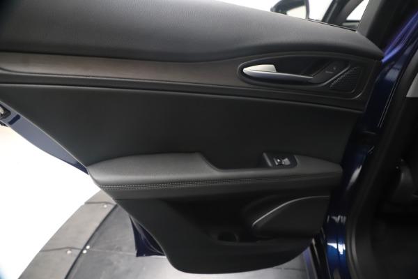 New 2020 Alfa Romeo Stelvio Ti Q4 for sale $54,340 at Pagani of Greenwich in Greenwich CT 06830 21