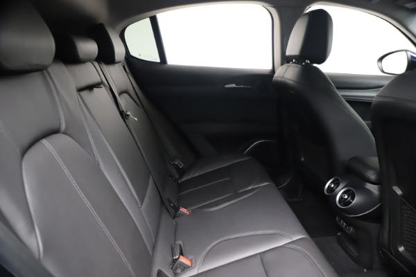 New 2020 Alfa Romeo Stelvio Ti Q4 for sale $54,340 at Pagani of Greenwich in Greenwich CT 06830 27