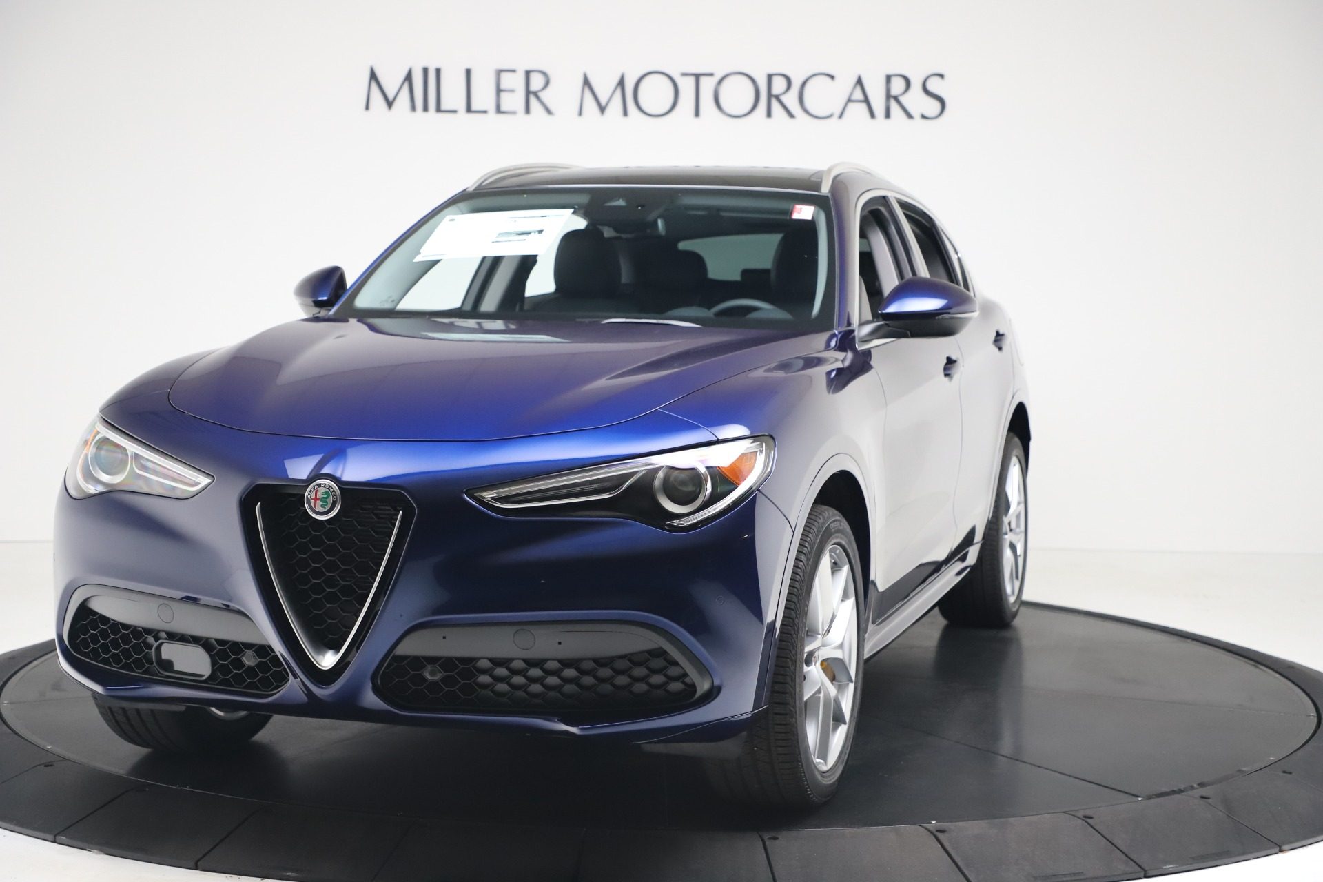 New 2020 Alfa Romeo Stelvio Ti Q4 for sale $54,340 at Pagani of Greenwich in Greenwich CT 06830 1