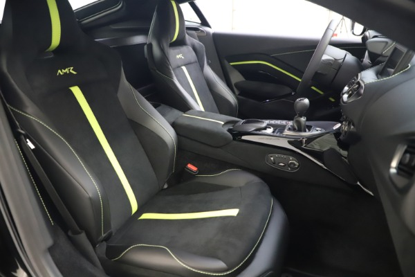 New 2020 Aston Martin Vantage AMR Coupe for sale $191,931 at Pagani of Greenwich in Greenwich CT 06830 19
