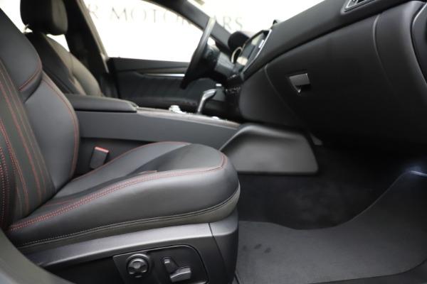 New 2019 Maserati Ghibli S Q4 GranLusso for sale $98,395 at Pagani of Greenwich in Greenwich CT 06830 23