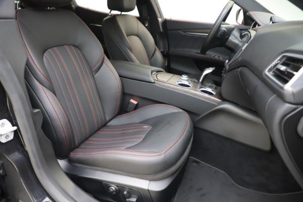 New 2019 Maserati Ghibli S Q4 GranLusso for sale $98,395 at Pagani of Greenwich in Greenwich CT 06830 24