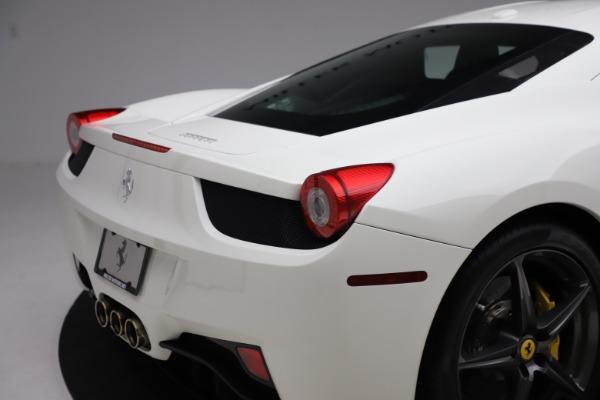 Used 2013 Ferrari 458 Italia for sale $186,900 at Pagani of Greenwich in Greenwich CT 06830 26