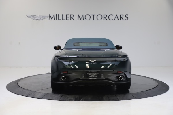 New 2020 Aston Martin DB11 Volante Convertible for sale Sold at Pagani of Greenwich in Greenwich CT 06830 27