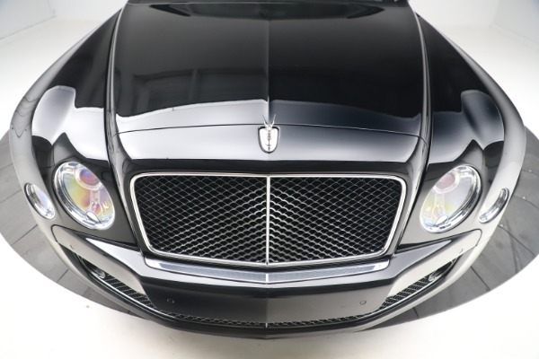 New 2016 Bentley Mulsanne Speed for sale $157,900 at Pagani of Greenwich in Greenwich CT 06830 12
