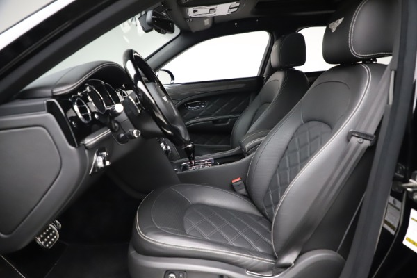 New 2016 Bentley Mulsanne Speed for sale $157,900 at Pagani of Greenwich in Greenwich CT 06830 17