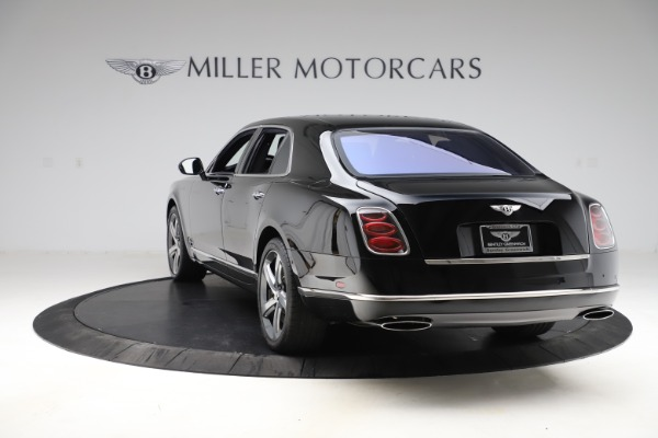 New 2016 Bentley Mulsanne Speed for sale $157,900 at Pagani of Greenwich in Greenwich CT 06830 4