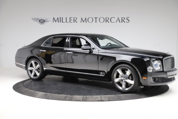 Used 2016 Bentley Mulsanne Speed for sale $156,900 at Pagani of Greenwich in Greenwich CT 06830 9
