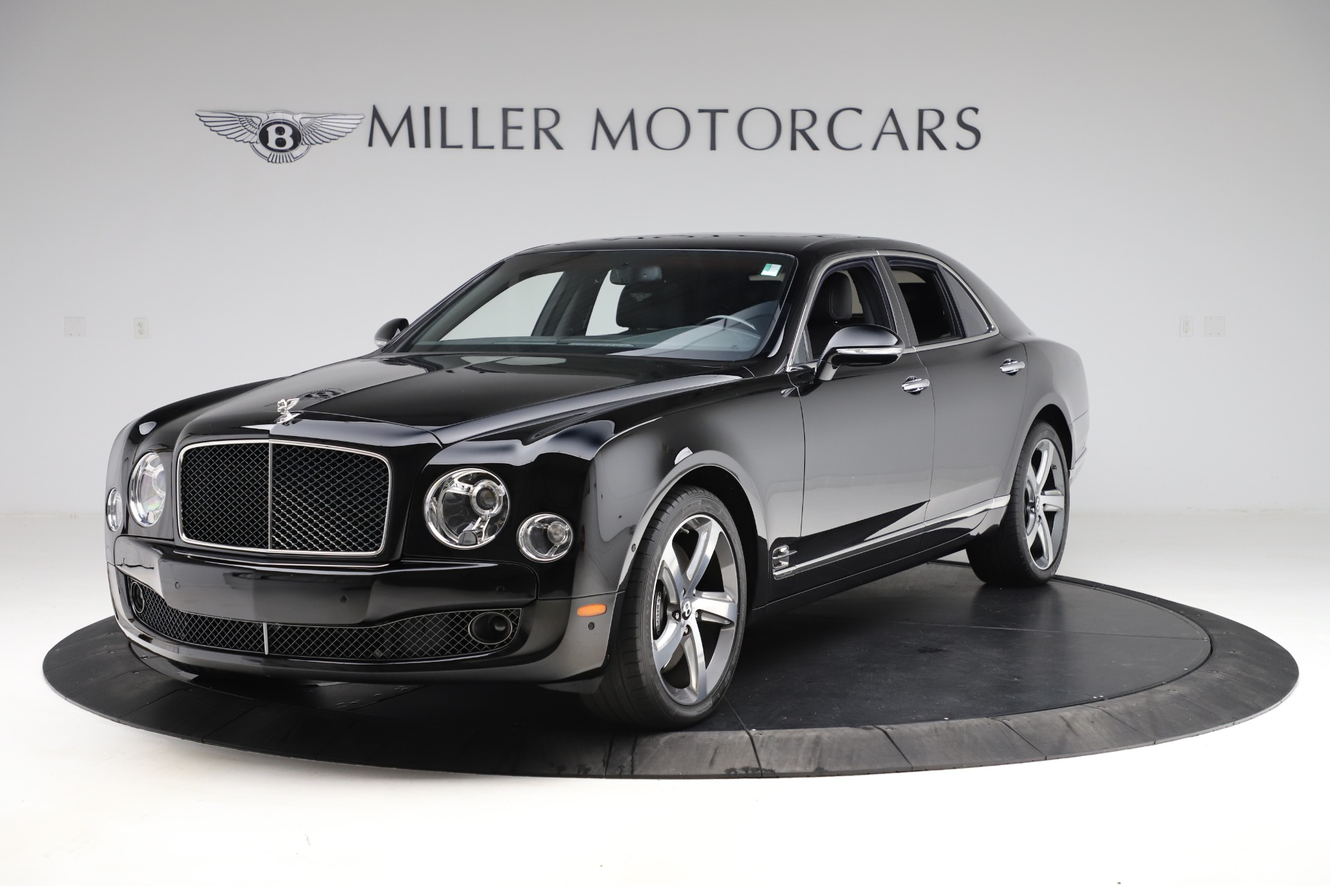 New 2016 Bentley Mulsanne Speed for sale $157,900 at Pagani of Greenwich in Greenwich CT 06830 1