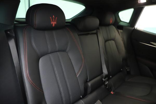 New 2020 Maserati Levante Q4 GranSport for sale $88,885 at Pagani of Greenwich in Greenwich CT 06830 26