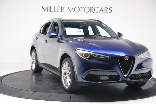 New 2019 Alfa Romeo Stelvio Ti Sport Q4 for sale $48,190 at Pagani of Greenwich in Greenwich CT 06830 11