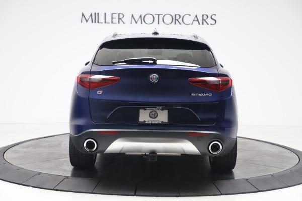 New 2019 Alfa Romeo Stelvio Ti Sport Q4 for sale $48,190 at Pagani of Greenwich in Greenwich CT 06830 6