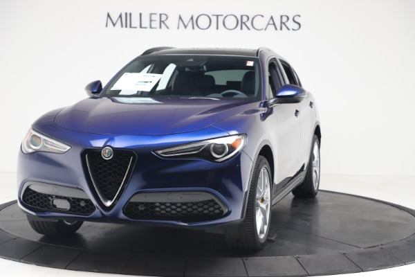 New 2019 Alfa Romeo Stelvio Ti Sport Q4 for sale $48,190 at Pagani of Greenwich in Greenwich CT 06830 1