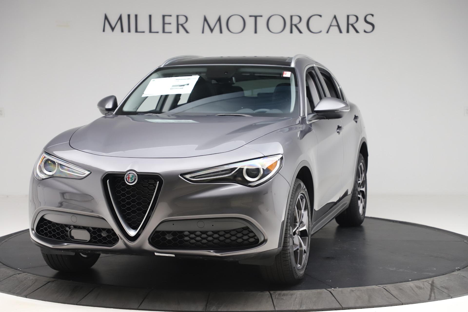 New 2019 Alfa Romeo Stelvio Ti Q4 for sale $44,590 at Pagani of Greenwich in Greenwich CT 06830 1