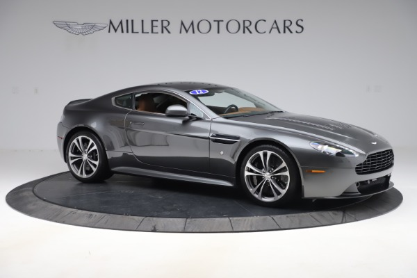 Used 2012 Aston Martin V12 Vantage Coupe for sale Sold at Pagani of Greenwich in Greenwich CT 06830 9
