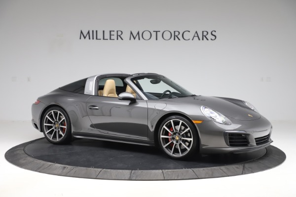 Used 2017 Porsche 911 Targa 4S for sale $119,900 at Pagani of Greenwich in Greenwich CT 06830 10