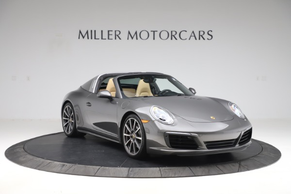 Used 2017 Porsche 911 Targa 4S for sale $119,900 at Pagani of Greenwich in Greenwich CT 06830 11