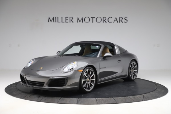 Used 2017 Porsche 911 Targa 4S for sale Sold at Pagani of Greenwich in Greenwich CT 06830 12