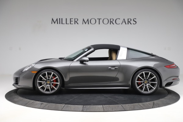 Used 2017 Porsche 911 Targa 4S for sale $119,900 at Pagani of Greenwich in Greenwich CT 06830 13
