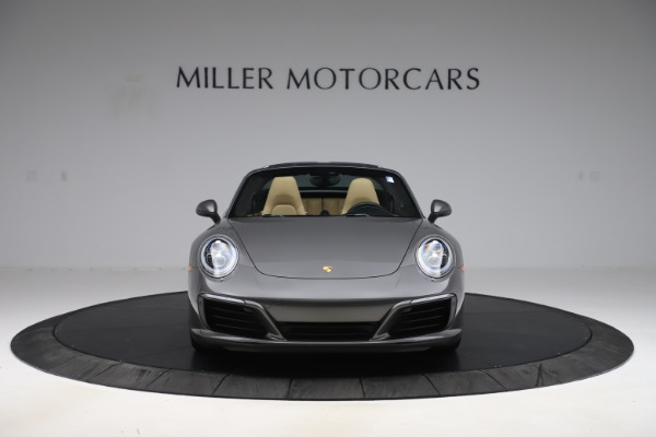 Used 2017 Porsche 911 Targa 4S for sale Sold at Pagani of Greenwich in Greenwich CT 06830 18