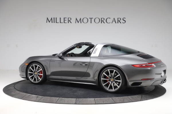 Used 2017 Porsche 911 Targa 4S for sale $119,900 at Pagani of Greenwich in Greenwich CT 06830 4