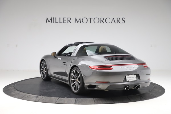 Used 2017 Porsche 911 Targa 4S for sale Sold at Pagani of Greenwich in Greenwich CT 06830 5