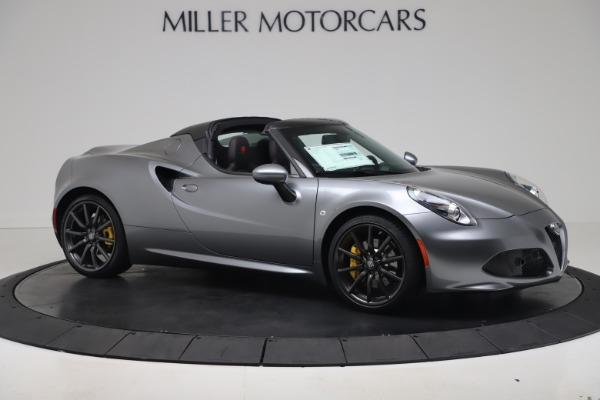 New 2020 Alfa Romeo 4C Spider for sale $78,795 at Pagani of Greenwich in Greenwich CT 06830 10