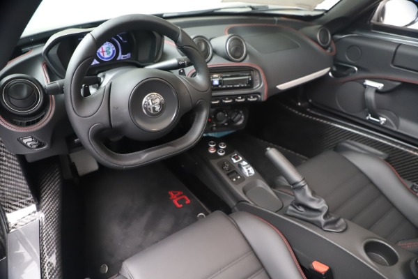 New 2020 Alfa Romeo 4C Spider for sale $78,795 at Pagani of Greenwich in Greenwich CT 06830 19