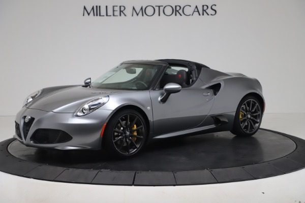 New 2020 Alfa Romeo 4C Spider for sale $78,795 at Pagani of Greenwich in Greenwich CT 06830 2