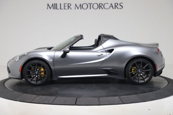 New 2020 Alfa Romeo 4C Spider for sale $78,795 at Pagani of Greenwich in Greenwich CT 06830 3
