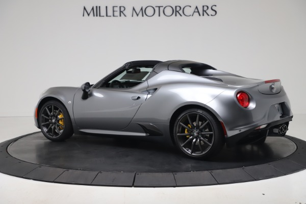 New 2020 Alfa Romeo 4C Spider for sale $78,795 at Pagani of Greenwich in Greenwich CT 06830 4