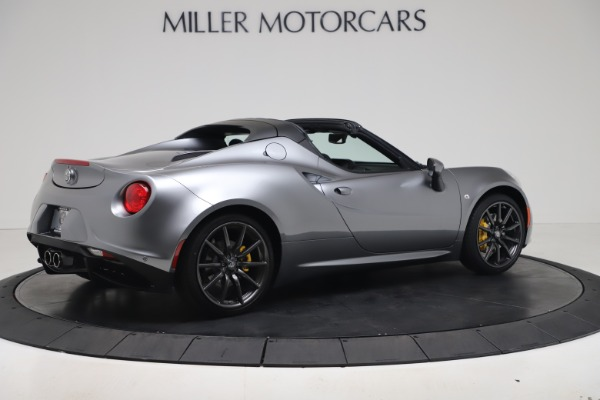 New 2020 Alfa Romeo 4C Spider for sale $78,795 at Pagani of Greenwich in Greenwich CT 06830 8