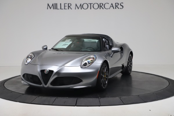 New 2020 Alfa Romeo 4C Spider for sale $78,795 at Pagani of Greenwich in Greenwich CT 06830 1